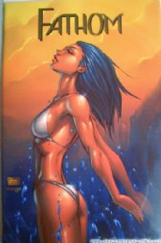 Fathom #1 Wizard World Philadelphia Colour Variant Michael Turner Cover Jay Company comic book